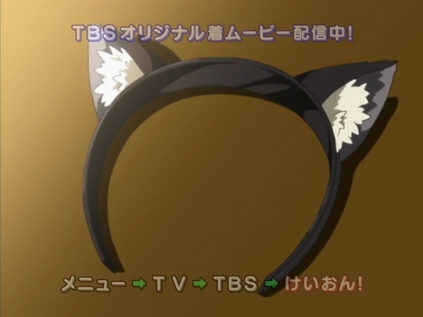 K-ON! - 09 K-on! ep9 cat ears