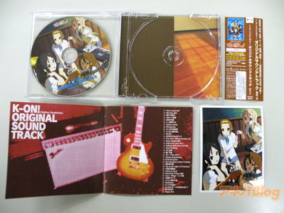 K-on! OST Original  Sound Track OST inside